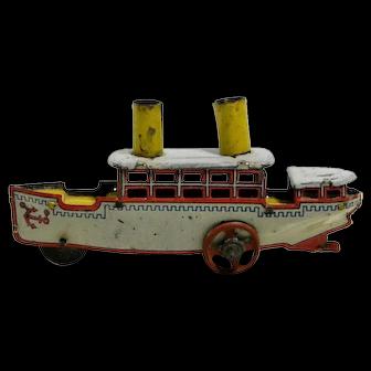 Tin Penny Toy Boat