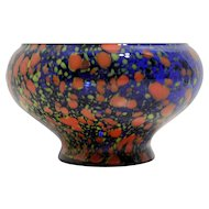 Hand Blown Czech Glass Bowl