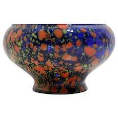 Hand Blown Czech Glass Bowl
