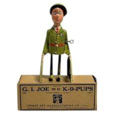 G. I. Joe and his K-9-Pups –near mint with Box