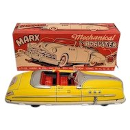 Marx Tin Mechanical Roadster Windup with Box
