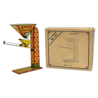 Chein No. 45 Tin Automatic Sand Loader with Box