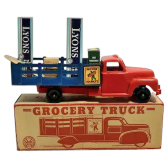 Marx Grocery Truck with Box
