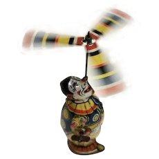 No. 77 Tin Chein Clown Juggler Windup