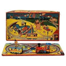 TPS Shuttle Zoo Train Windup with Box