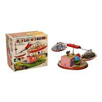 Yone (Yoneya) Play Land Sky Bus Ride Windup with Box