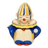 Large Made in Japan Ceramic Figural Clown Reamer
