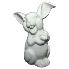 Large Rosenthal Laughing Rabbit – white