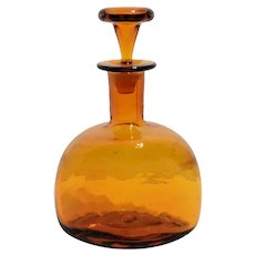 Blenko No. 6617 Decanter in Honey