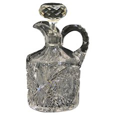 ABCG Decanter with Double Hobstars