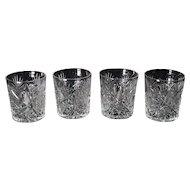 Set of Four ABCG Shot Glasses