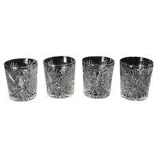Set of Four ABCG Shot Glasses