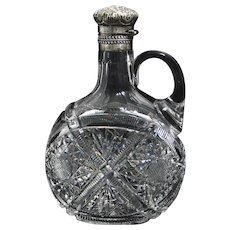 ABCG Decanter with Gorham Sterling Top