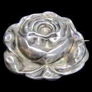 Art Nouveau Pin/Brooch Sterling Front