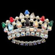 B David Crown Brooch/Pin