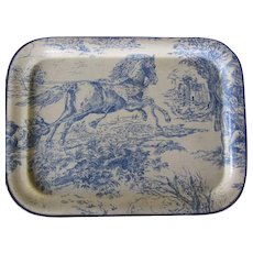 Keswick Fibre Glass Tray - Galloping Horse