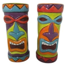 Wild!  Clay Art TIKI shakers