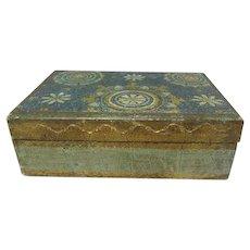Florentine Wooden Gilt Trinket Box