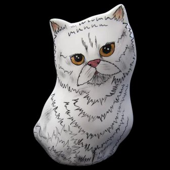 Adorable! Cat vase by Cats by Nina