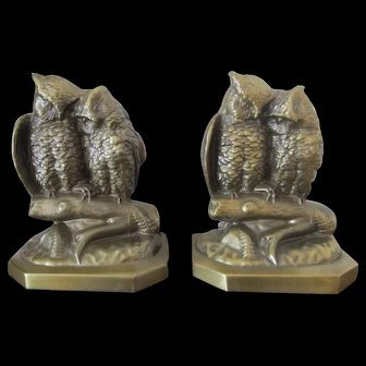Owl Bookends PM Craftsman