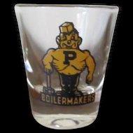 Purdue Boilermakers Shot Glass