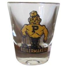 TCHOTCHKE:  Purdue Boilermakers Shot Glass