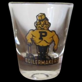 Purdue Boilermakers Shot Glass