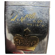 Zippo Lighter Niagara Cyclo Massage Crown Pin Club of America