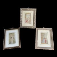Set of 3 Miniature Framed Pictures