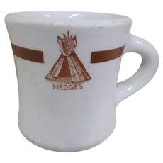 TCHOTCHKE:  Hedge's Wigwam Coffee Mug