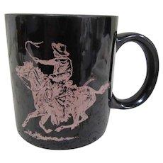 TCHOTCHKE:  Marlboro Mug with Cowboy Graphics