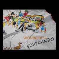 Souvenir Scarf of Wonderful Copenhagen