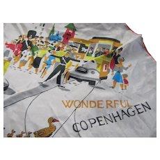 Souvenir Scarf of Wonderful Copenhagen