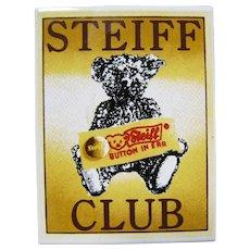 Steiff Club Magnet
