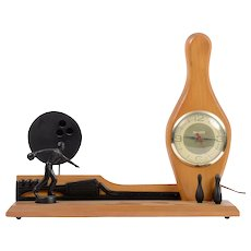 Gibraltar Electric Bowling Themed Mantel Clock