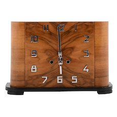 German Art Deco Mantel Clock