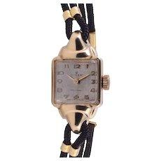 Rare Rolex Gold Filled Ladies Wrist Watch