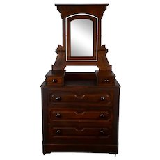 Dresser with Swivel Mirror