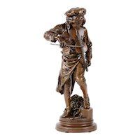 Gaudez Bronze Lulli Enfant