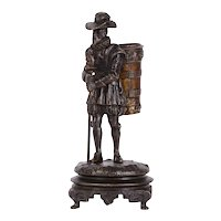 Hiker Bronze Sculpture