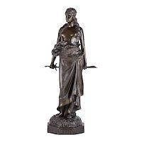 Judith Bronze Clad Statue
