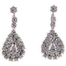 8.52 CTW Diamond Dangle Earrings