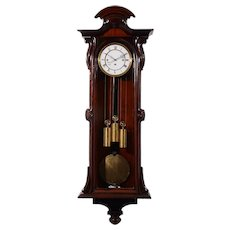 German Three Weight Grande Sonnerie Vienna Regulator