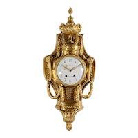 Ferdinand Berthoud Gilt Cartel Wall Clock