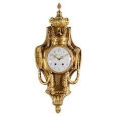 Ferdinand Berthoud Gilt Cartel Wall Clock