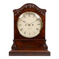 Ashdown of London Mahogany Bracket Clock