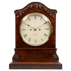 Ashdown of London Mahogany Bracket Clock