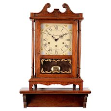 Daneker Walnut Bracket Clock