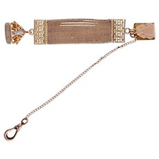 Victorian Watch Chatelaine and Fob