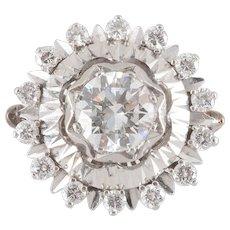 1.17 Carat Center Diamond Ring